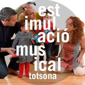 Estimulació musical TOTSONA! 0-18 mesos